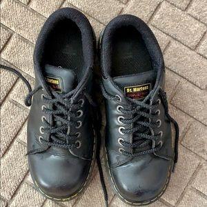 Dr Martens Industrial Steel Toe Shoes | Crust Punk